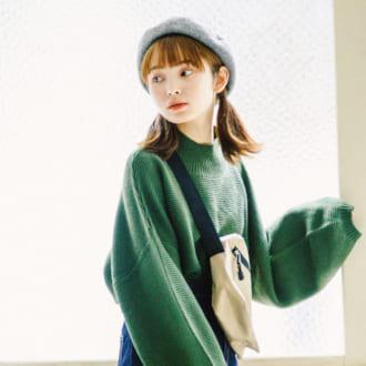 【ガーリー派&カジュアル派】1番可愛いBESTニット着まわし