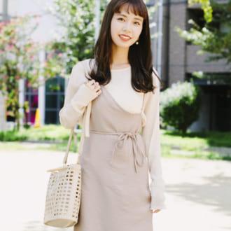 """【Today's merSNAP】優しげな雰囲気が魅力♡ 男女ウケする """"ベージュ""""のワントーンコーデ"""