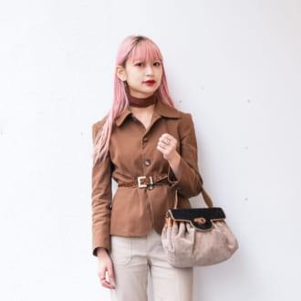 【Today's merSNAP】オシャレすぎ♡古着屋スタッフのジャケットコーデ
