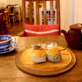 スコーンがおいしいとっておきカフェ Vol.4 高円寺「カフェ分福(ぶんぶく)」