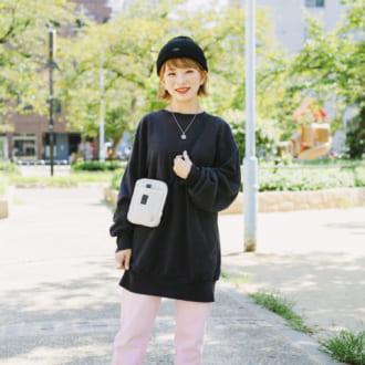 【Today's merSNAP】甘辛ミックスの2トーンコーデはやっぱり可愛い♡