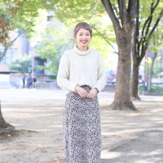 【Today's merSNAP】透明感アップ♡ 白ニットはざっくり編みが今っぽい!