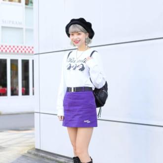 【Today's merSNAP】個性派オシャレ女子が注目! ロングブーツが流行りそう