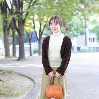 【Today's merSNAP】ショート丈アウター+ハイウエストパンツで断トツ脚長に♡