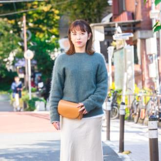 【Today's merSNAP】くすみグリーンが可愛い♡ ニットの大人っぽ見えを狙え
