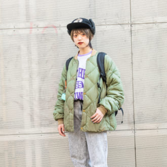 【Today's merSNAP】古着屋スタッフが着こなす 90年代のストリートスタイル