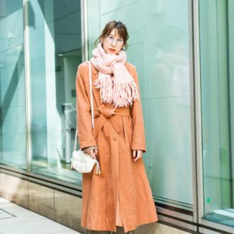 【Today's merSNAP】大人女子はワンピ風コートで可愛くなる♡