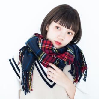 巻くだけでオシャレすぎ♡ モデルの愛用マフラー4選