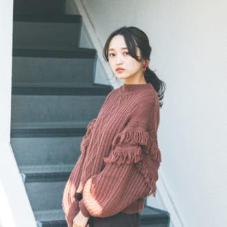 """【12/30のコーデ】同窓会は""""ワントーン""""でこなれて"""