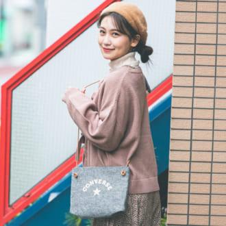 【12/9のコーデ】花柄ワンピをスカート風にレイヤード♡