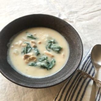 季節の食材を楽しもう! お腹の中から体ポカポカ   ーかぶと鶏肉の豆乳スープー