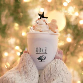 """【期間限定】""""BOTANIST cafe""""でオリジナルホットチョコレートが飲めるみたい♡"""