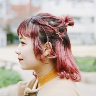 【ヘアアレSNAP】現役スタイリストに学ぶ♡ ハーフアップお団子アレンジ