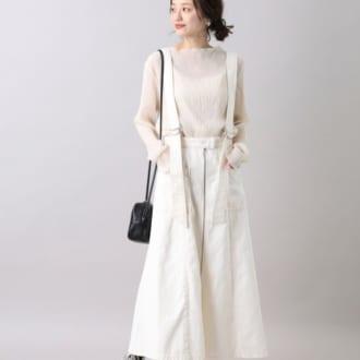 最旬ムード満点。今買って春まで役立つホワイトスカート5選