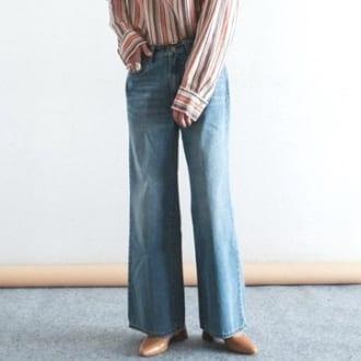 旬顔デニムに更新。春に買い足すべき1本は「美脚フレア」です!