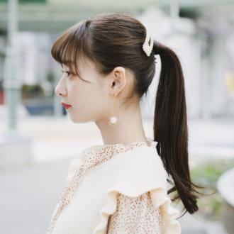 【ヘアアレSNAP】ポニテの可愛さ2割り増し♡ 魅せるヘアアクセの使い方