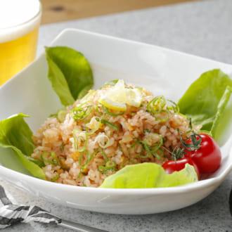 パパッと簡単ランチ! つぶつぶ食感がクセになる「たらこ炒飯」レシピ