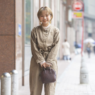 【Today's merSNAP】低身長さんが着こなす♡ トレンド「ジャンプスーツ」コーデ