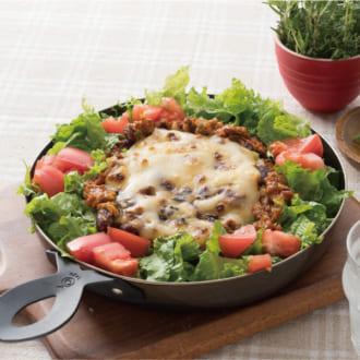 おうちでカフェランチ♡ 野菜たっぷりタコライス