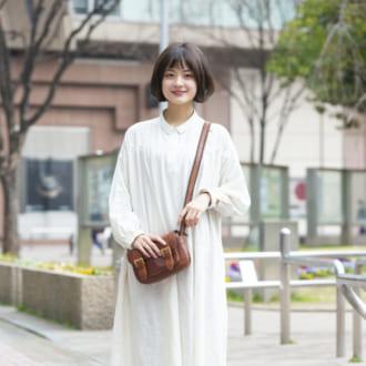 "【Today's merSNAP】1枚でサマになる♡ ""白シャツワンピ""がやっぱり可愛い。"
