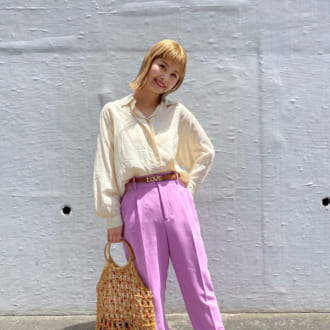 【Today's merSNAP】ZARAのトレンドパンツが着まわし力抜群!