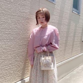"""【Today's merSNAP】定番コーデがワンランクアップ! スカートの""""2枚重ね""""がポイントでした♡"""