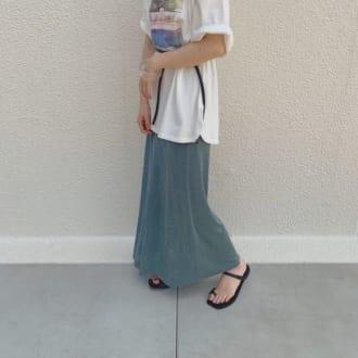 """ワンパターンになってない? オシャレさんに学ぶ、夏の3大""""スカート""""着まわしバリエ"""