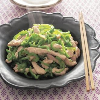 2食材でできる糖質オフ献立♡ 鶏むねの炒めもの&豆腐スープ