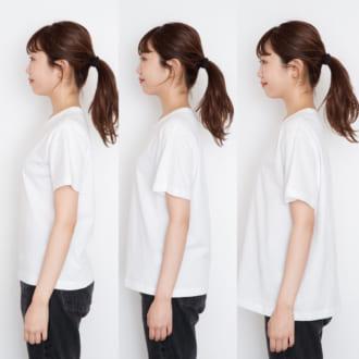 【着画でサイズ見せ!】GUのカラークルーネックTシャツを攻略せよ
