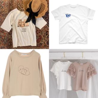 売り切れ続出中! 大人気ファッションインフルエンサー発のオリジナルTシャツが可愛すぎる♡