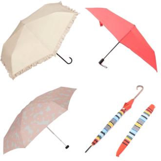 雨の日も晴れの日も安心! 可愛くて使える晴雨兼用傘6選