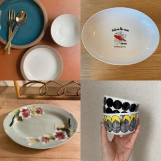 え!? モデルたちはこんな食器使ってるの! 料理が映える&可愛いお皿大公開