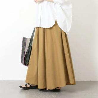 賢くセールで買い!シーズンレスで使える女っぽフレアスカート