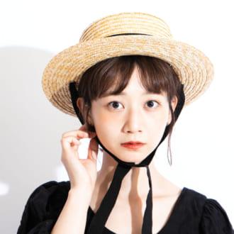 【夏限定アイテム】モデルは麦わら帽子のここにこだわる!