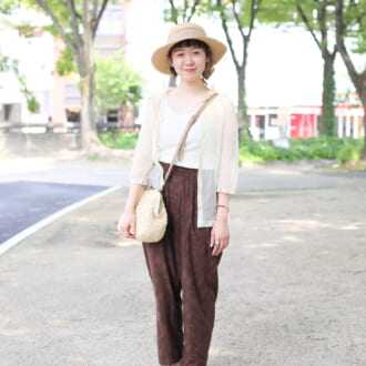 【Today's merSNAP】小物使いがカギ♡ トレンドのシアーコーデに差をつけよう!