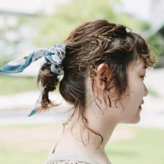 【ヘアアレSNAP】オシャレ上級者見え♡ スカーフアレンジ