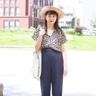【Today's merSNAP】麦わら帽子×レオパード柄がオシャレ♡ 大人女子のモードな夏コーデのつくり方
