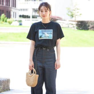 【Today's merSNAP】ワンランクアップさせる♡ 夏のTシャツ×デニムコーデのコツって?
