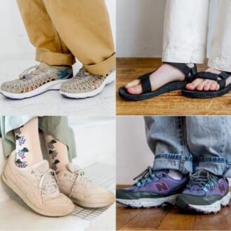 【モデルの足元コーデ♡】KEEN、テバ、NB、アシックス… オシャレさんが愛用してるスポーツブランド靴!