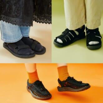 【KEEN、Teva、SHAKA…】ダサ見えしない夏スポサン×靴下の合わせ方