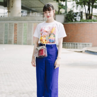 【Today's merSNAP】大人女子がお手本♡ プリントTシャツのクールな着こなし法