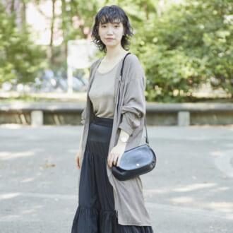 【Today's merSNAP】この秋注目♡ ティアードスカートで作る大人女子のゆるコーデ