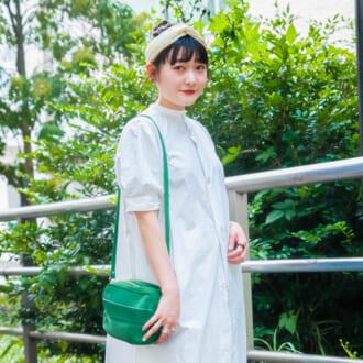 【Today's merSNAP】白ワンピースを格段にオシャレに! ×ロングスカートのレイヤードテク