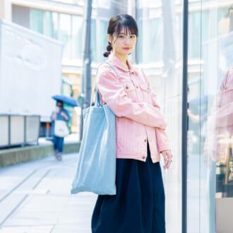 【Today's merSNAP】ピンクが目を惹く♡ キレイ色コーデの甘くなりすぎないコツ