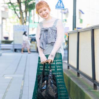 【Today's merSNAP】ビスチェ風が可愛い♡  周りと差を付けるシャツアレンジテク