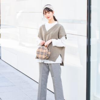 "【Today's merSNAP】今季マストアイテム♡ ""ニットベスト""で作る大人女子のアカ抜けコーデ"