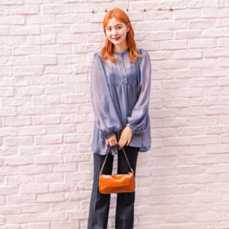 【Today's merSNAP】ZARAのキレイ見えパンツがカギ♡ クール可愛い大人女子スタイル