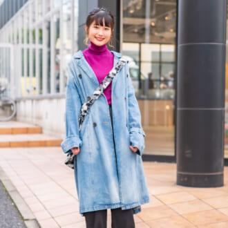 【merSNAP】UNIQLO×古着が相性抜群♡ こなれ感溢れるデニムジャケットスタイル