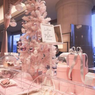 今年1年のご褒美に♡ 話題のヒルトン東京お台場「いちごビュッフェ」がピンクづくしで可愛すぎる