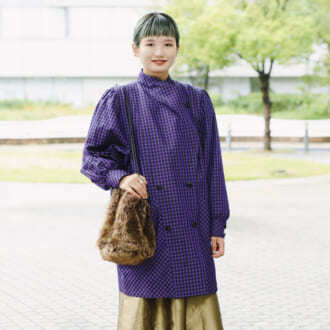 【Today's merSNAP】パープルに合う色とは? オシャレさんの色×色コーデ